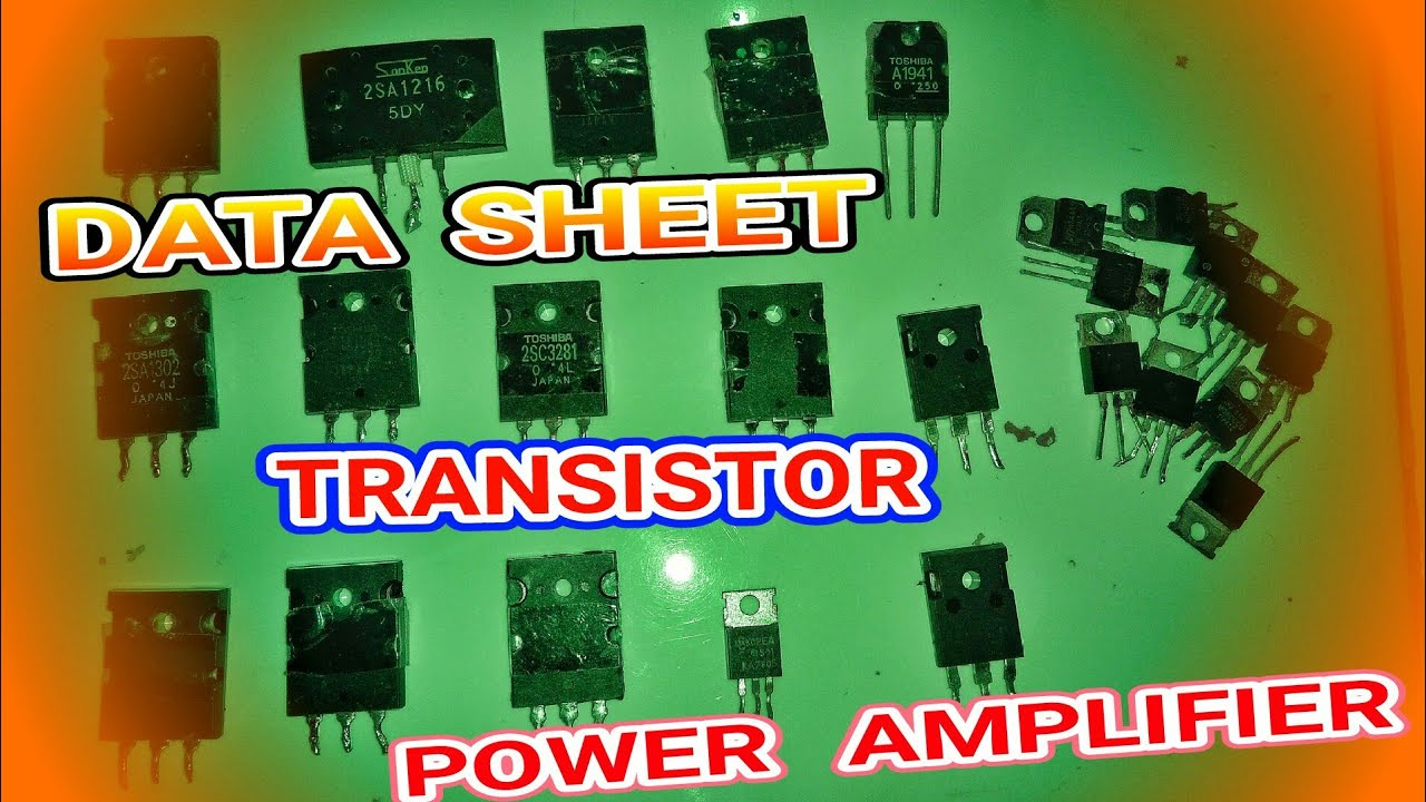 Power Ampli Mini Dengan Transistor : transistor pengganti persamaan untuk transistor power amplifier youtube ~ Russianpoet.info Haus und Dekorationen
