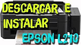 Descargar e Instalar Driver EPSON L210 I 2018