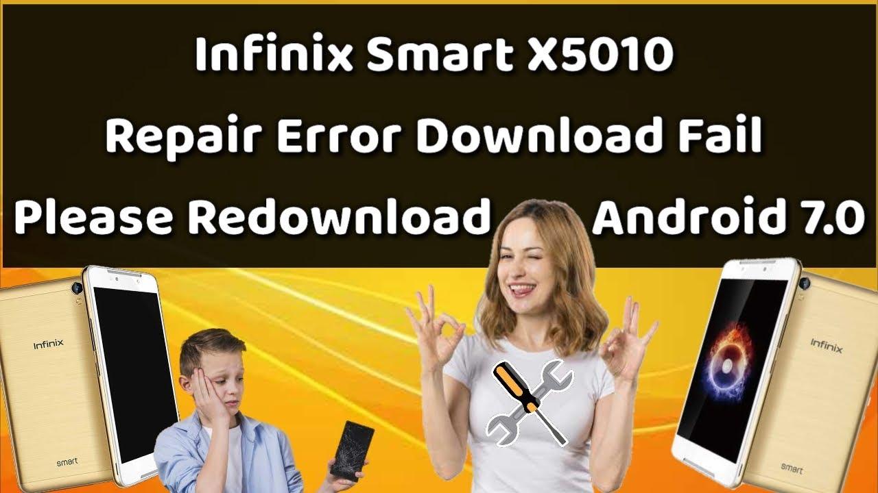 Infinix X5010 Download Fail