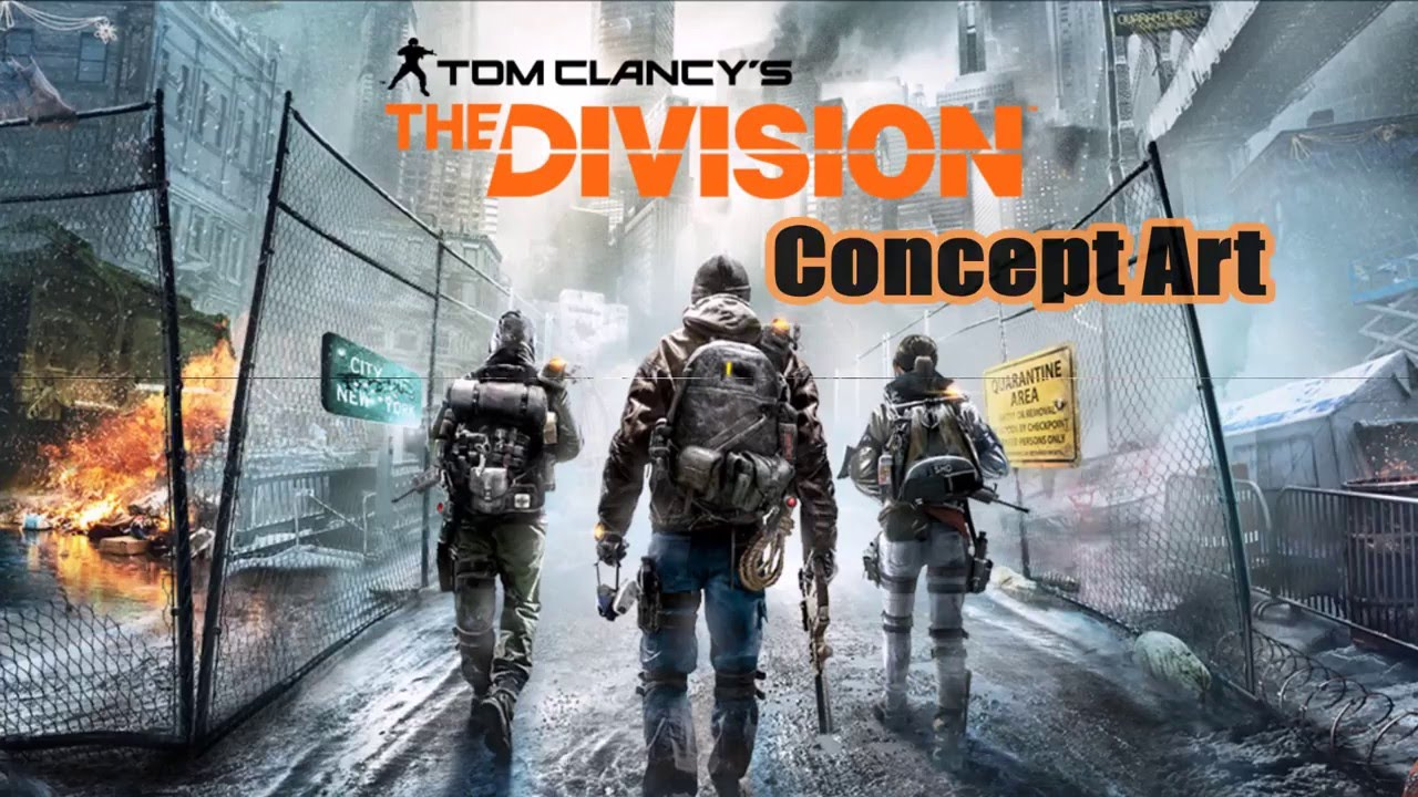 Division Concept Art Uplay Reward