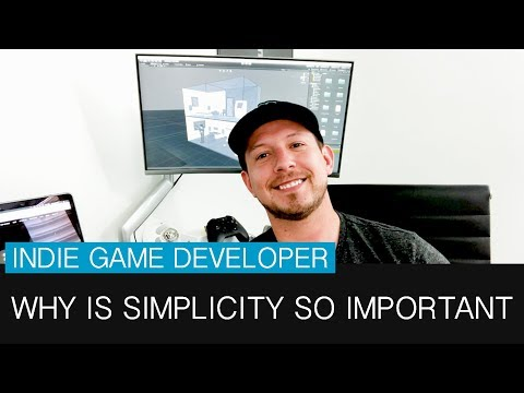 why is simplicity so important for indie game developers unity forum. Black Bedroom Furniture Sets. Home Design Ideas