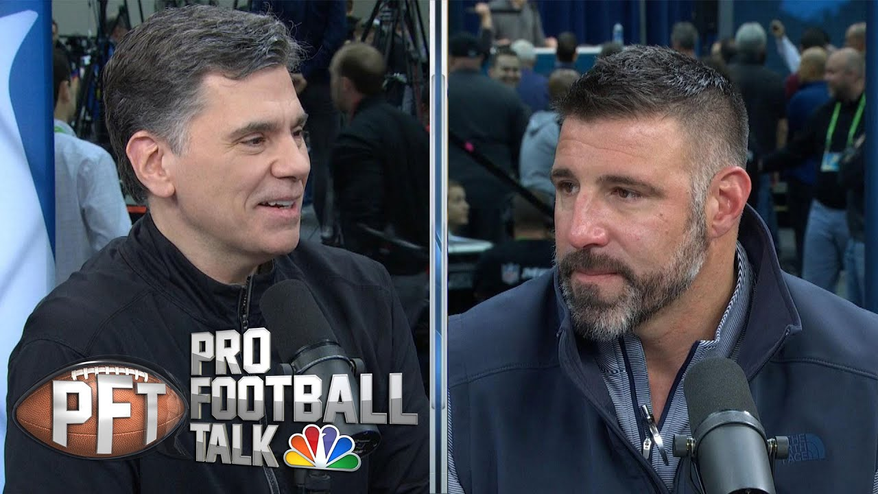 Mike Vrabel details how Tannehill sparked Titans (FULL INTERVIEW) | Pro Football Talk | NBC Sports M