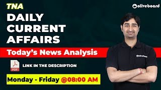 Current Affairs | Daily News - January 24 | SBI Clerk | RBI Assistant | Today's News Analysis