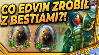 Co Edvin ZROBIŁ z bestiami?! - Hearthstone USTAWKA