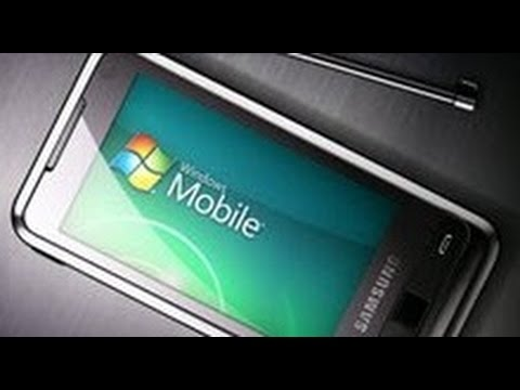 windows mobile 6.5 pour samsung player addict i900