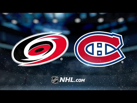 Hurricanes top Canadiens in wild affair