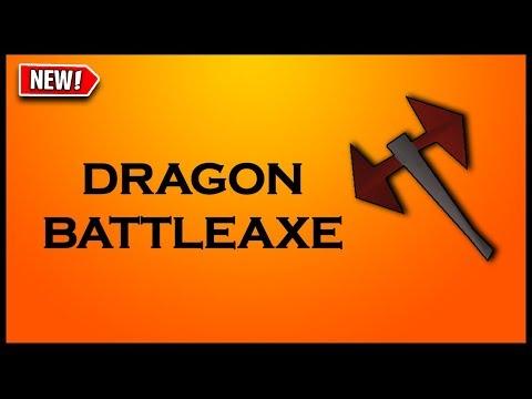Dragon Battleaxe - RuneScape Weapon Guide