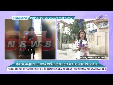Informații de ultimă oră despre starea de sănătate a Ionelei Prodan