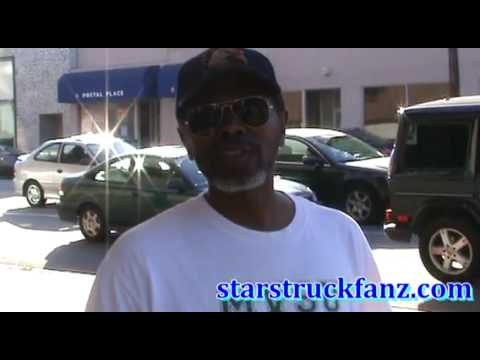 StarStruckz.com talks with actor Ernest Thomas in Beverly Hills