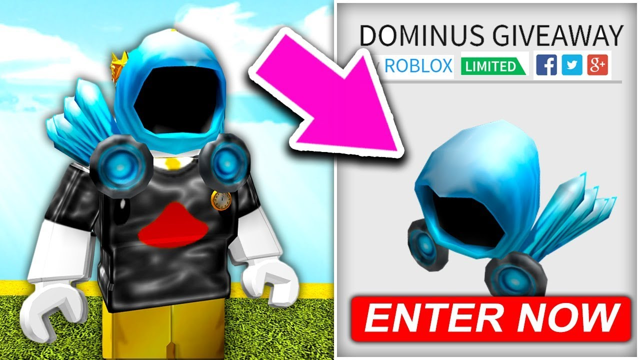 (450,000 ROBUX) ROBLOX DOMINUS GIVEAWAY .. *ROBLOX FREE ...