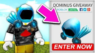 (450,000 ROBUX) ROBLOX DOMINUS GIVEAWAY .. *ROBLOX FREE ROBUX*