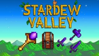 Stardew Valley - Return Scepter, Coloring Chest & Galaxy Equipment