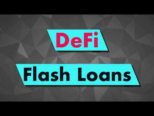 Borrow tokens with Aave FLASHLOANS - Solidity tutorial