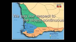 The Acknowledgement Song - Whadjuk Country