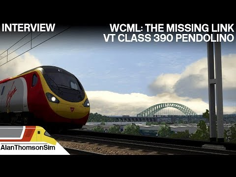 Train Simulator 2018:AP/SP Class 390 Crewe-Liverpool The Missing Link Interview