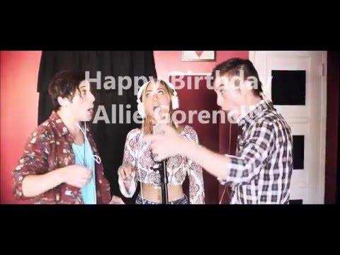 Happy 19th Birthday Allie Gorenc