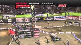 2011 AMA Supercross - RD17 Las Vegas - 250 Class East vs West Shootout [ Part 2 of 2 ]