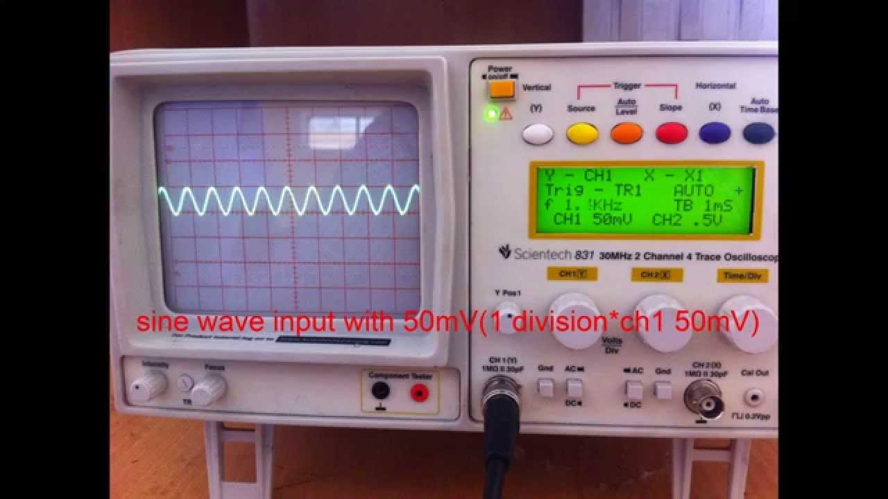 Single Tuned Voltage Amplifier Youtube Where Can You Find An With A Input And What