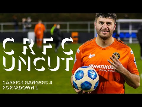 Carrick Rangers Portadown Goals And Highlights