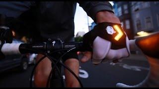 Zackees Best Bicycle Bike Light - Turn Signal Gloves on Kickstarter