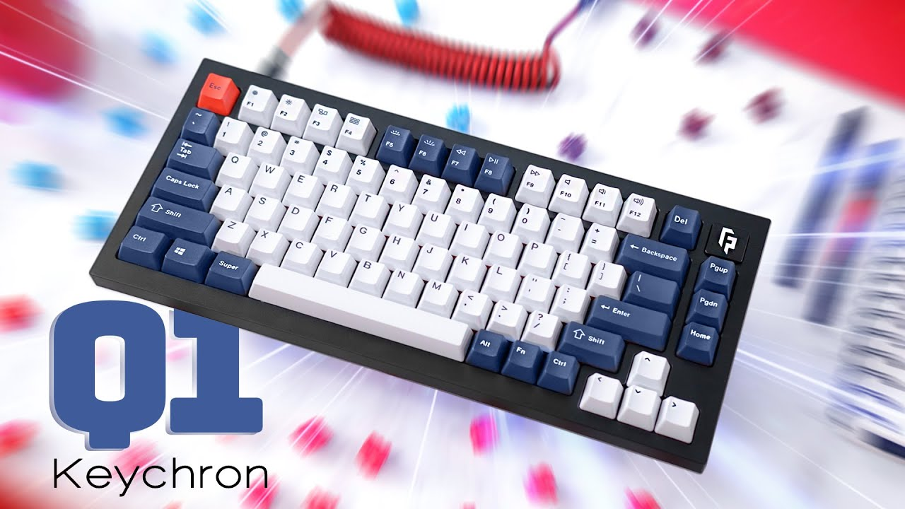 Download Keychron Q1 Review - A CRAZY good keyboard for the price!
