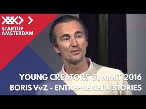 Entrepreneur Stories - Boris Veldhuijzen van Zanten TNW - Young Creators Summit 2016
