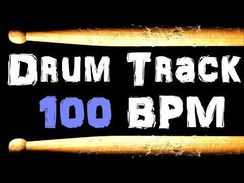 Funk Soul Drum Beat 100 BPM Bass Guitar Practice Track Loop Free MP3