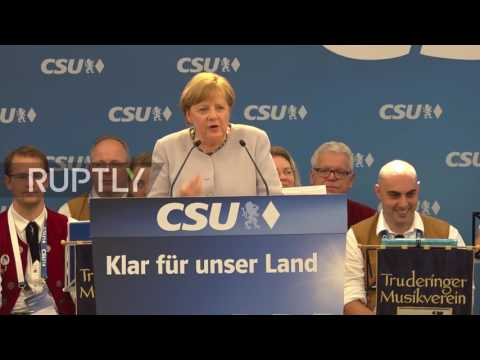 Germany: Europe must 'take our destiny into our own hands' - Merkel reacts to Trump meeting