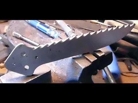 Balisong Blade Filework