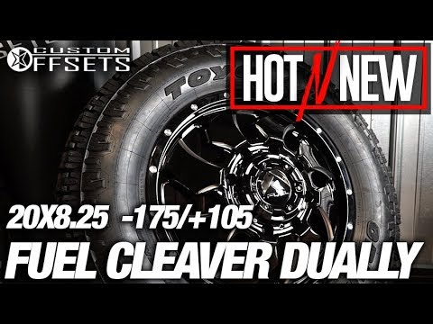Hot n New ep.115: Fuel Cleaver 20x8.25 +105 / -175