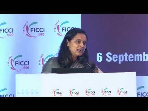 Shilpa Kumar, Co-Chair, FICCI Capital Markets Committee at #CAPAM2017