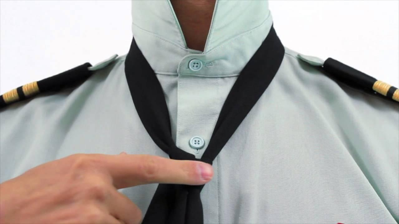 Tie a Half Windsor - Tie a Tie - YouTube