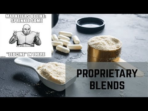 What are Proprietary Blends?   What is in the Perfect Pre-Workout?