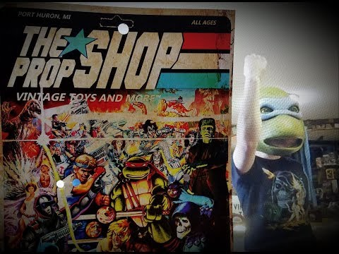 * Epic Vintage Toy Store and Movie HORROR Fabrication TOUR ( THE Prop SHOP ) 1 of 2
