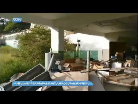Hospital vira depósito de entulho em Minas Gerais