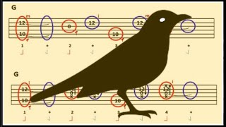 Blackbird Guitar Lesson (Beatles): Finger Strum/Flick/Pick Pattern Explained
