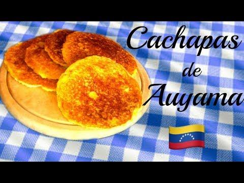 CACHAPAS DE AUYAMA SUPER FACIL