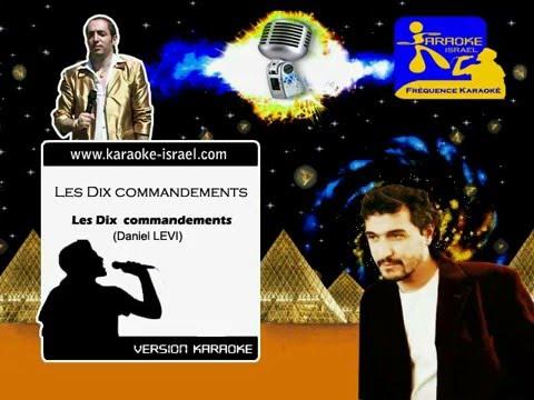 Demo Karaoke - Les Dix commandements - Daniel LEVI - Les Dix commandements
