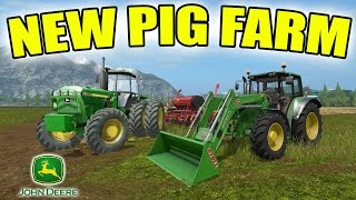 Video FARMING SIMULATOR 2017 | THE BEGINNING OF A PIG FARM | JOHN DEERE EQUIPMENT ONLY! download MP3, 3GP, MP4, WEBM, AVI, FLV November 2017