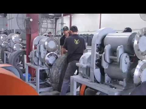 Emirates Rubber Products Factory Recycling process