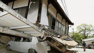 9 قتلى ومئات الجرحى في زلزال قوي يضرب جنوب اليابان     15-4-2016
