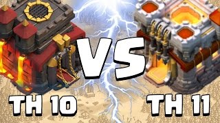 Clash of Clans - Best TH10 vs TH11 Strategy - Dragon Attack