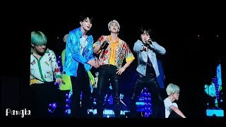 Download lagu BTS in Bangkok 흥탄소년단 진격의 방탄 Fire 뱁새 Dope BTSLoveYourselfinBKK MP3