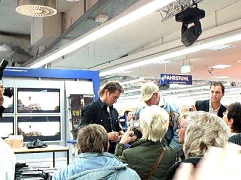 Peter Maffays Autogrammstunde in Bremen