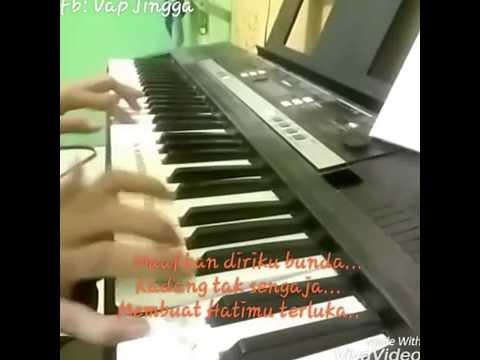 Muara Kasih Bunda vers piano ( cover Vap Jingga)
