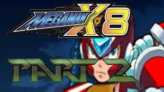 The Lightning Rod - Mega Man X8 - Playthrough - Part 2 - When Japanese Actors are better...