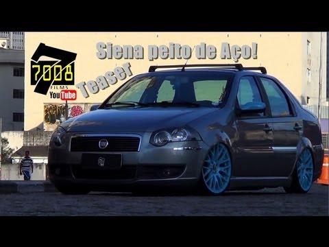 Teaser FIAT Siena rebaixado Aro 17 Suspensão FIXA - Canal 7008Films