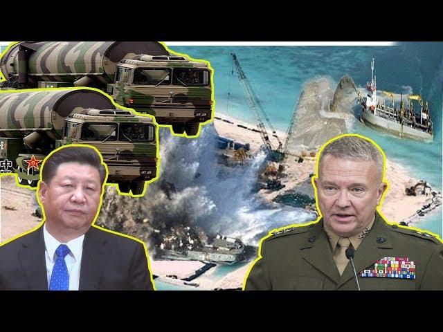 Bị Mỹ dọa phá đảo nhân tạo TQ ngông cuồng đòi mang Vũ Khí h,ạ,t nh,â,n ra biển Đông