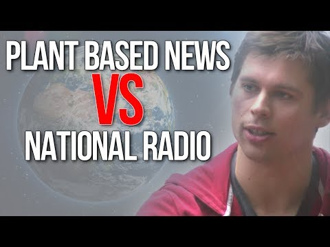 Fending Off Humane Meat Pusher On National Radio (Dairy Is Scary: Vegan vs Meat Eater)