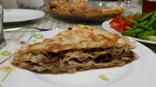Kıymalı Kuru Yufka Böreği Tarifi - Hülya Ketenci - Yemek Tarifleri